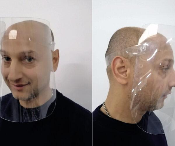 Защитен лицев шлем тип Маска
