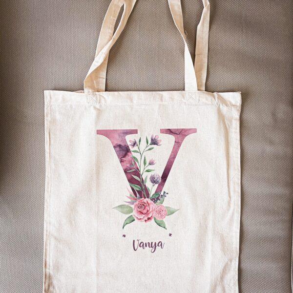 Памучна чанта с принт Vanya's Bag