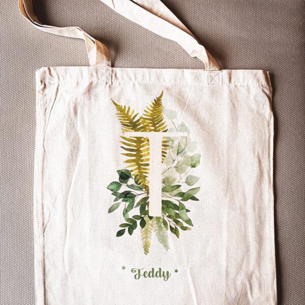 Памучна чанта с принт Teddy's Bag