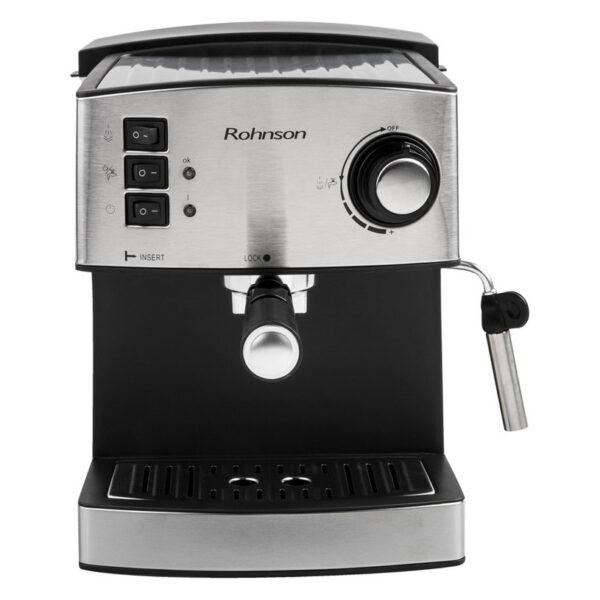 Кафемашина еспресо ROHNSON R-980, 850 W, 20 bar