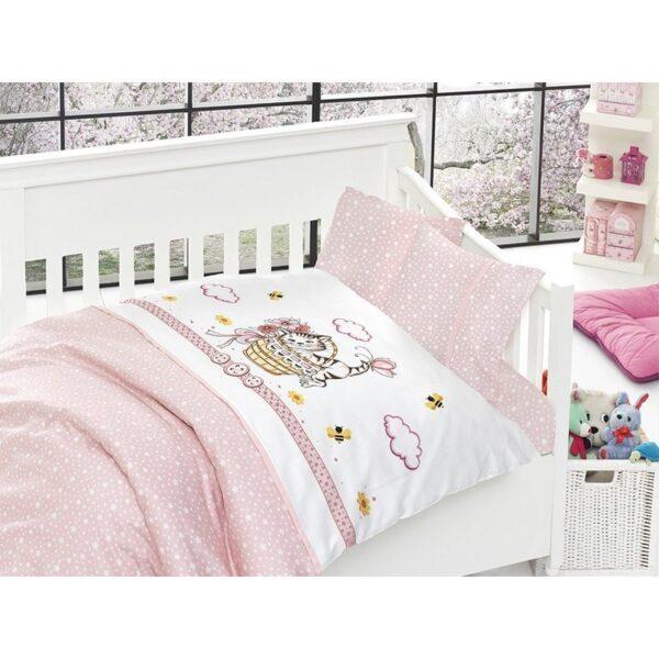 Бебешко спално бельо - Kitty Pembe