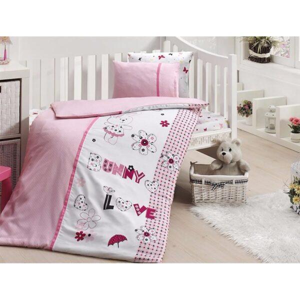 Бебешко спално бельо - Love Bunny