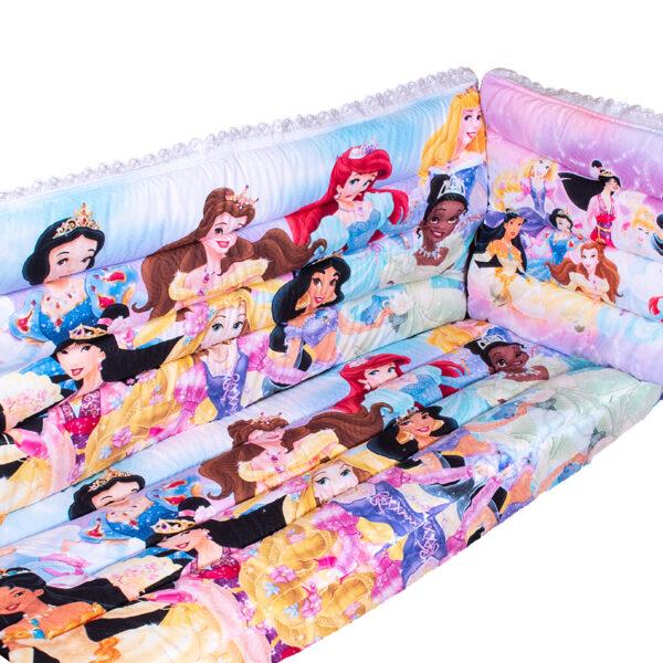 3D луксозен обиколник за кошара Princess story, BABY-4690