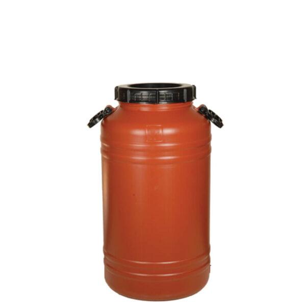 Пластмасов бидон 75 литра с дръжки – серия Теракота