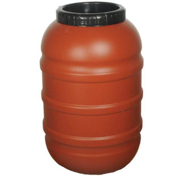 Пластмасов бидон 200 литра – серия Теракота