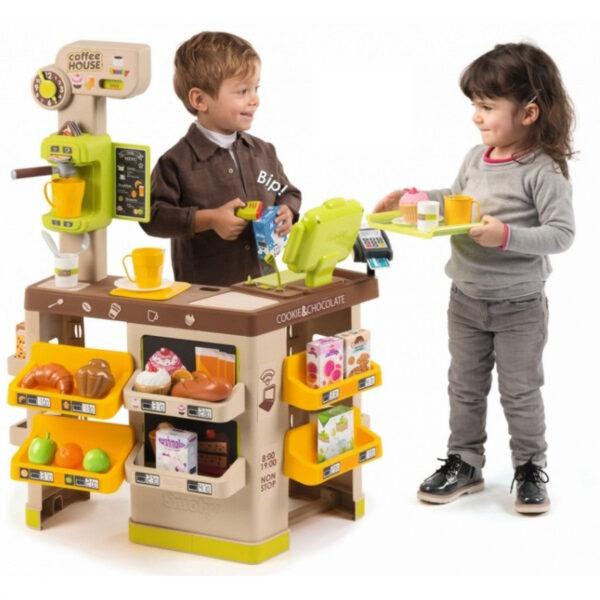 Smoby Детски комплект - Къща за кафе