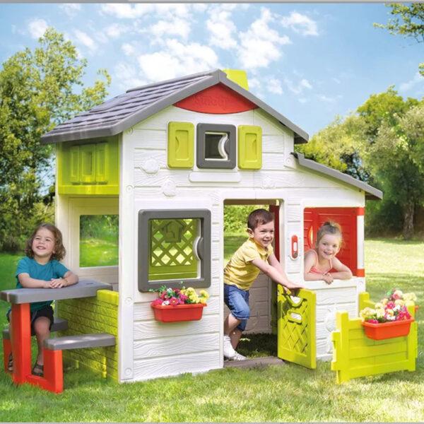 Smoby Детска Къща за игра Neo Friends House Playhouse
