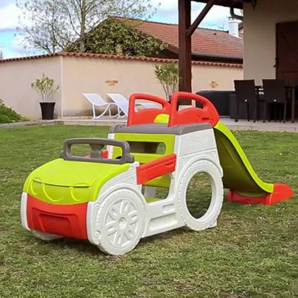 Smoby Детска Кола за приключения с пързалка