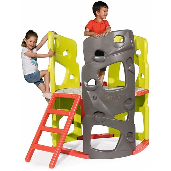 Smoby Детска кула за катерене с водна пързалка
