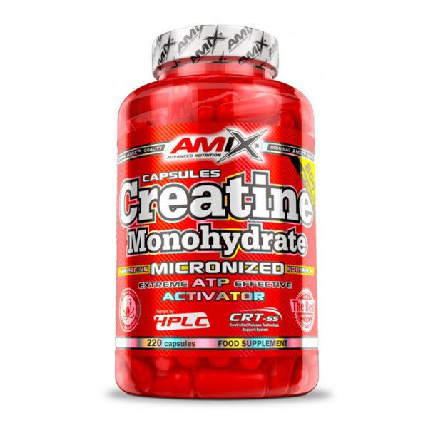 AMIX - CREATINE MONOHYDRATE - 220 CAPS
