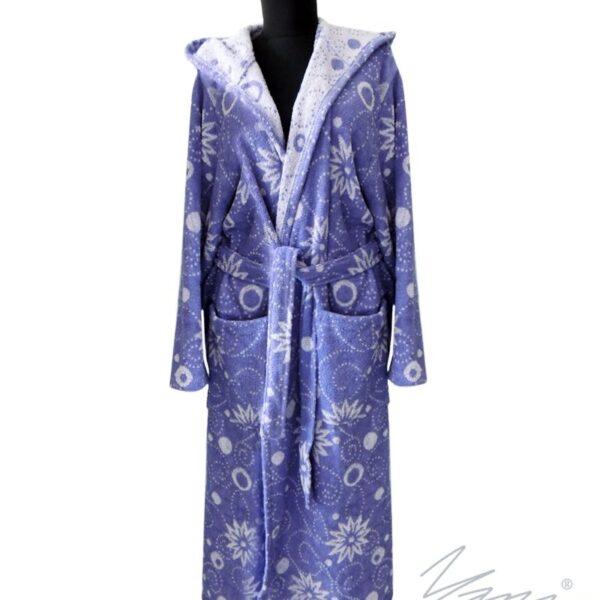 Yana- Дамски халат БЕА лила