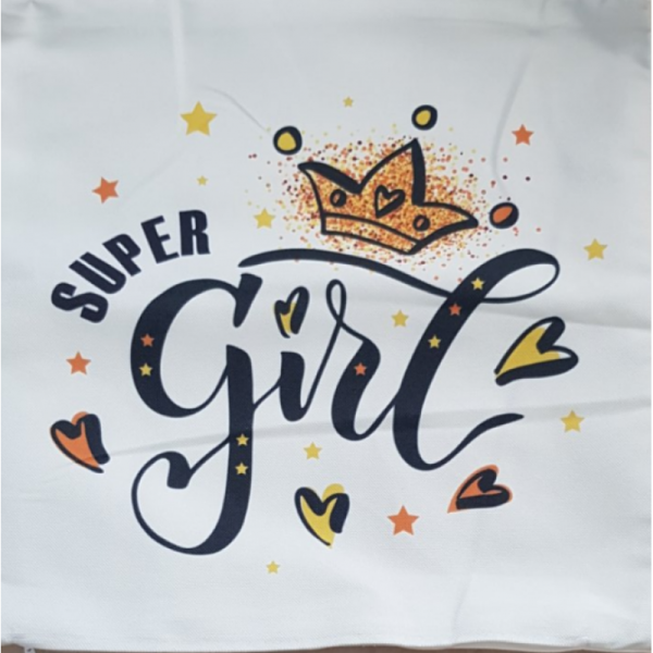 АРТ ДЕКО ВЪЗГЛАВНИЦА - SUPER GIRL