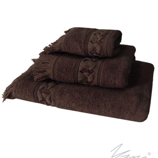 Yana- Хавлиена кърпа A 310 кафяв