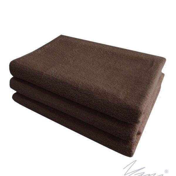 Yana- Kърпа за масажни студиа кафяво